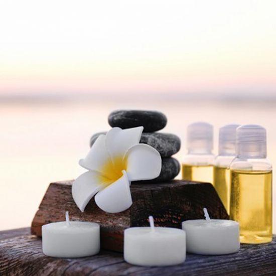 Soin relaxant Huile de coco & fleur...